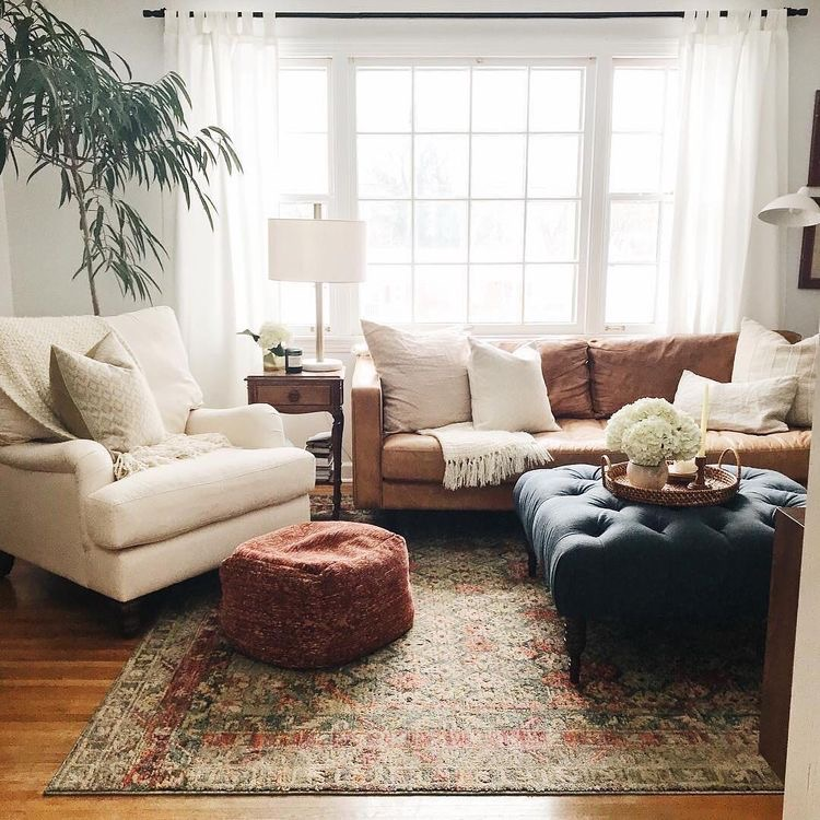 cozy simple living room