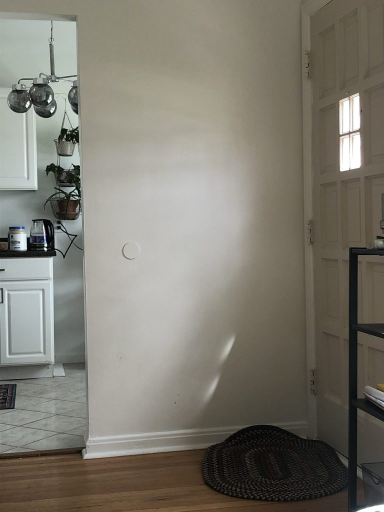 sherwin williams pure white in different lighting