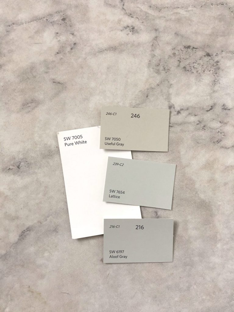 sherwin williams greige paint colors