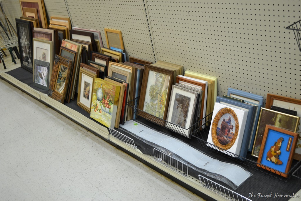 salvation army thrift store frames